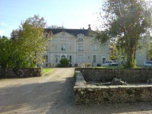 Vue extérieure château de Brannay