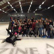 Session patinoire séjour ski adolescent Morzine