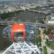 Vue de Londres depuis la grande roue
