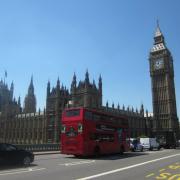Vue extérieure du Palais de Westminster