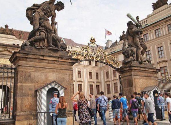 Visite du chateau royal de Prague