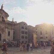 Visite du centre ville de Dubrovnik
