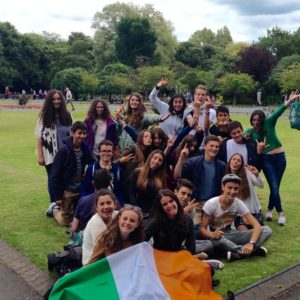 Les excursions en Irlande adolescents