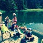 Visite du lac de Montriond Morzine