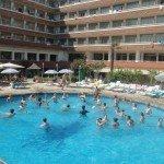 la piscine de l'hôtel Esplendid Espagne