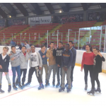 Session patinoire Morzine
