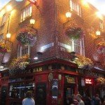 Le Temple bar à Dublin