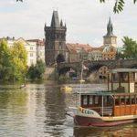 Balade en bateau vapeur Prague