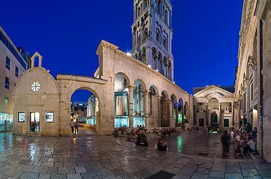 Visite du centre ville de Split