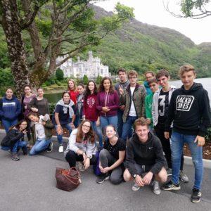Connemara collège en Irlande